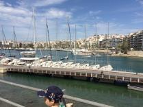 Smaller sail boats